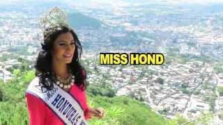 HONDURAS, Gabriela Vanessa SALAZAR VALLE,- Contestant Introduction : Miss World 2015