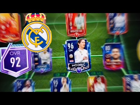 FIFA MOBILE 19 REAL MADRID SQUAD BUILDING ! 100 OVR TOTY Masters Gameplay And Upgrades Fifa Mobile