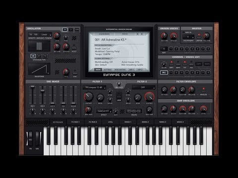 First look - Dune 3 VST by Synapse Audio