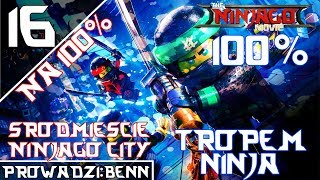 LEGO Ninjago Movie Video Game na 100% [#16] - Śródmieście Ninjago City 2/2 (100%!)