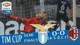 Lazio - Milan 0-0 (4-5 dcr) - Highlights - TIM Cup 2017/18 streaming