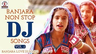 Gambar cover Banjara Non Stop Dj Songs Vol -1 | Banjara Love DJ Songs | Lalitha Audios And Videos