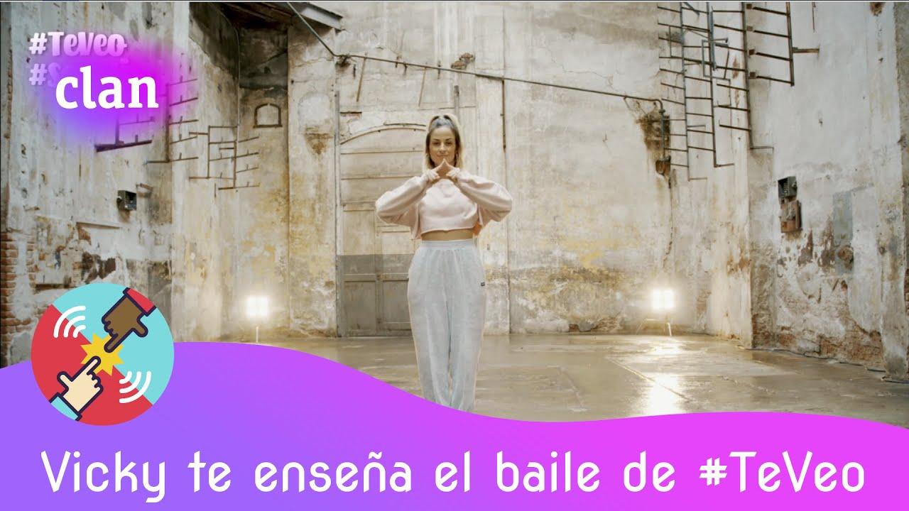 ¡Ya sabes los pasos! Ensaya con Vicky y la canción completa 'Te veo' de Hugo Cobo | Clan TVE