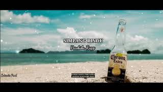 """SIMPANG_RINDU""-_-Pardidu_Rapp || Official Video Lyrics ||"
