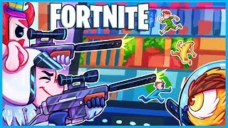 STUCK INSIDE A LAPTOP in Fortnite Creative Mode! (Fortnite Funny Moments & Mini Games)