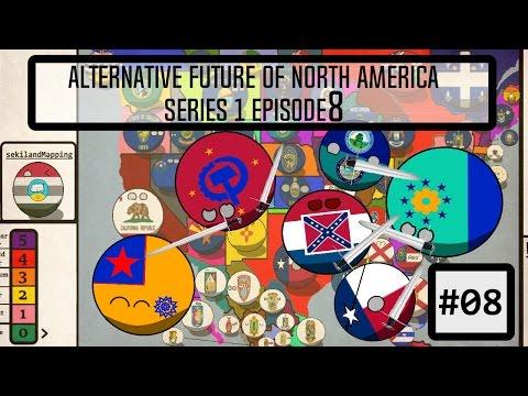 "Alternative Future of Northern America | Series 1 #8: ""The Great Escalation"""