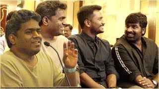 Yuvan Shankar Raja Praises Vijay Sethupathi and his son | Sindhubaadh Audio Launch ,|SU Arun Kumar