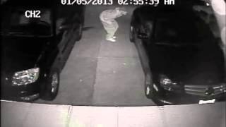 the del mar heights car break in thief