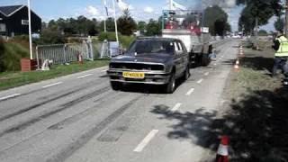 Carpulling Achthuizen 2010 Jan de Dieselman 2de manche autotrek