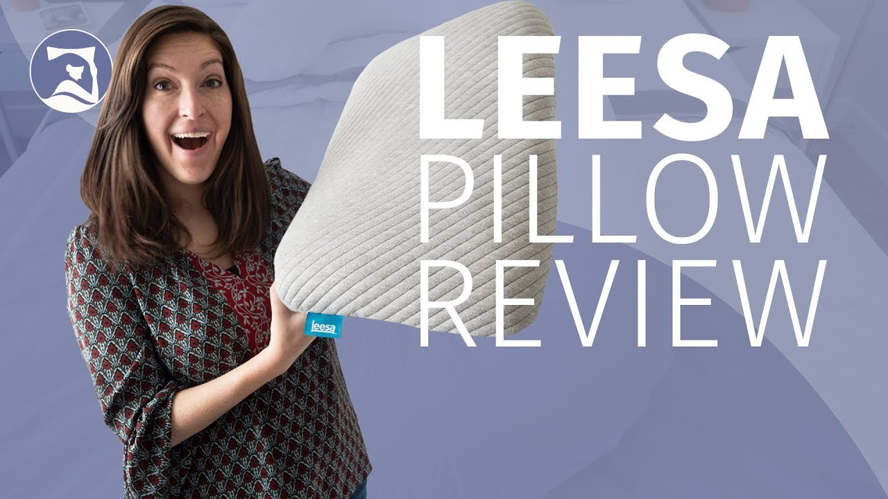 leesa pillow review the best pillow for stomach sleepers updated