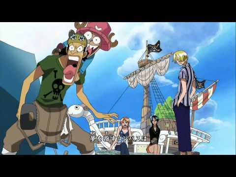 One Piece opening  6   BRAND NEW WORLD [HD]  (Lyrics in description)