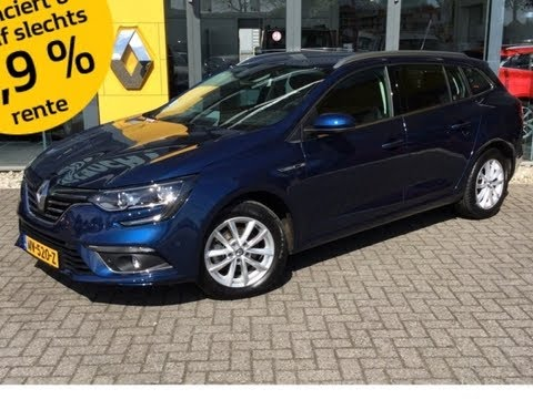 renault mgane estate 15 dci multi sense climate controle sfeer verlichting easy park ass