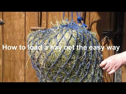 How To Load A Hay Net The Easy And Quick Way