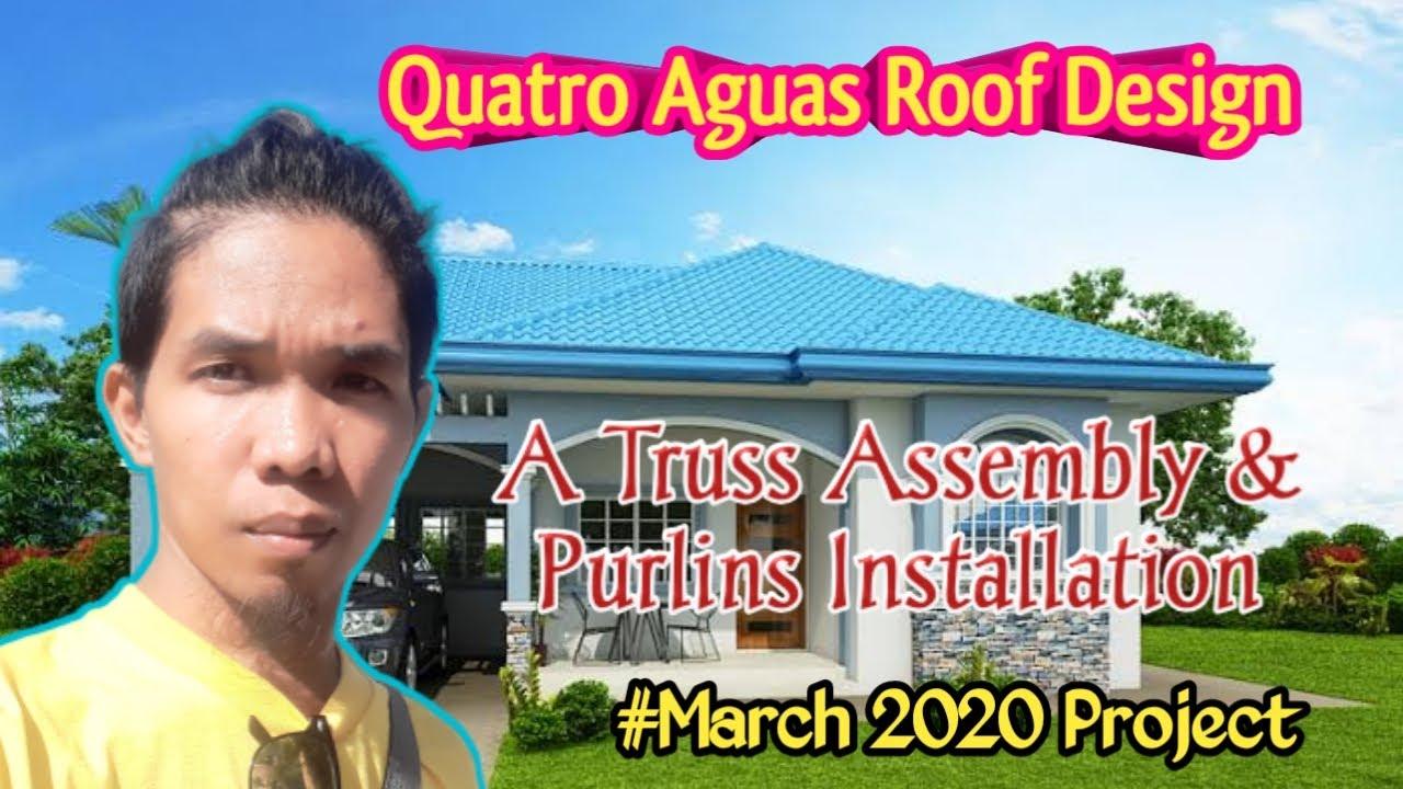 Quatro Aguas Roof Design Part1 Day1 3 Youtube