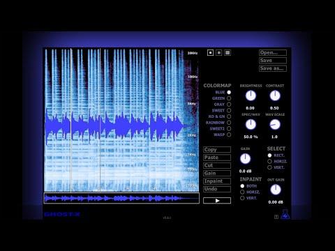 Ghost-X - Spectrogram editor