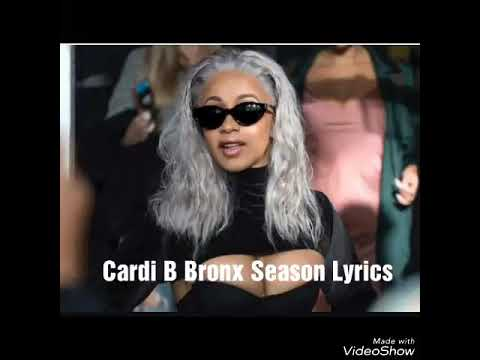 Cardi B Bronx Season Lyrics