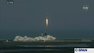 NASA SpaceX Crew Dragon Launch