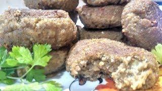 Вегетарианские котлеты из баклажанов | Рецепты похудения
