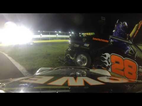 Charlotte Motor Speedway Bandolero Wreck