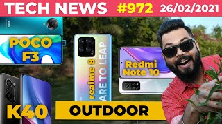 Download realme 8 Series First Look, POCO F2/F3 Coming Soon, Redmi Note 10 Box, Redmi K40 Launched-#TTN972
