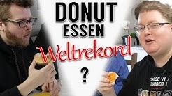 Weltrekord beim Donut-Essen?