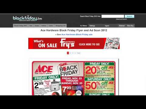Black Friday 2012 - Hottest Deals, Coupons, and Doorbusters Tools and Tips