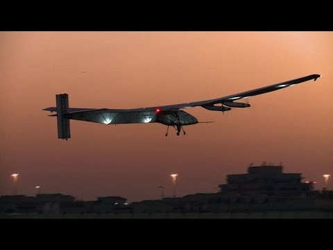 Solar plane passes new test ahead of world tour