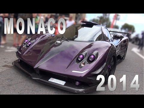 Monaco Supercar Spotting 2014