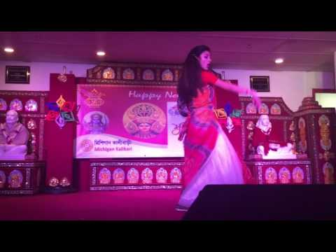 Ay Chelera Ay Meyera dance by Ahana Roy (Bangla)