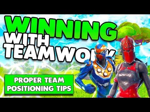 Proper Team Positioning Tips & Tricks | Teamwork To Win More Fights | Fortnite Battle Royale