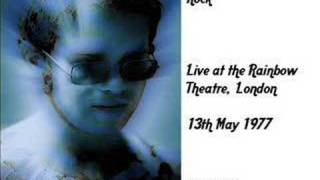 Elton John - Where to Now St.Peter (live Rainbow Theatre 77)
