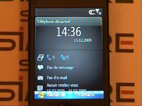 HTC S740 Adaptateur Double carte SIM Simore pour HTC S740