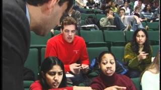Eric Mazur shows interactive teaching thumbnail