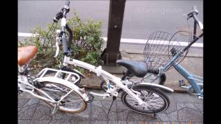 Bicycles in Japan 仙台市街の自転車