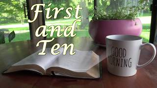 Tuesday First and Ten