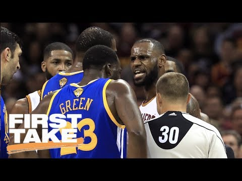 Thumbnail: Kevin Durant Or LeBron James: Who's A Better Trash Talker? | First Take | June 12, 2017