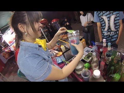 Indonesia Makassar Street Food 1768 Part.1 Lings MocktailsThe Best Drink in Makassar Kuliner Pecinan