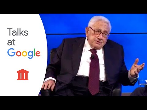 Dr. Henry Kissinger fireside chat with Eric Schmidt | Talks at Google [April 17, 2015]