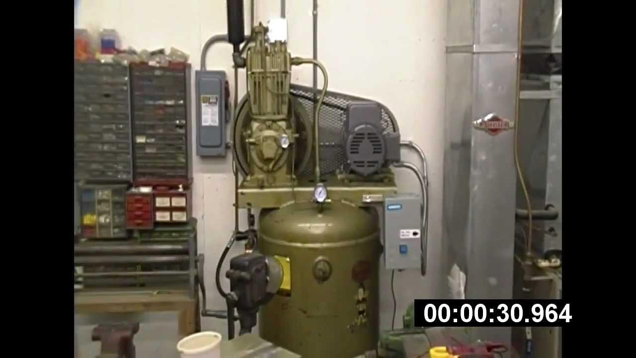 Quincy 325 Air Compressor Baldor motor installation-part 2- Its ...