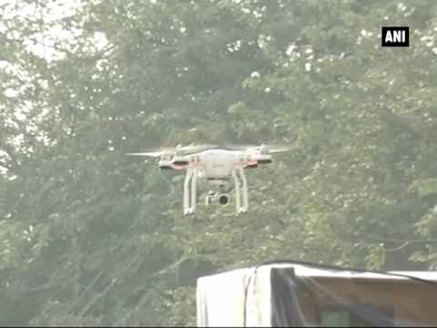 Watch: Drones used for surveillance as counting begins - ANI News