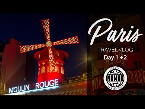 3 Days in PARIS, FRANCE | PARIS Travel Vlog Guide | DAY ONE + DAY TWO