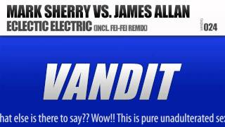 mark sherry vs james allan eclectic electric