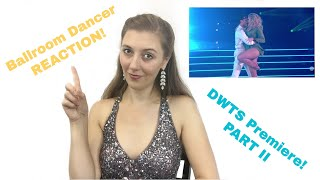 Dancing With the Stars Premiere Ballroom Dancer REACTION! | Part 2 | Dance Curious