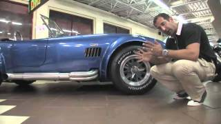 1965 Superformance Cobra for sale with test drive, driving sounds, and walk through video