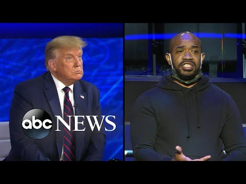 Trump on ABC News town hall: Trump responds to question on US's racial inequalities