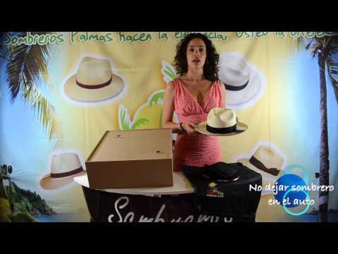 Palmas Shop: Dobla Y Cuida Tu Sombrero Panamá