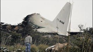 В Алжире упал военный самолет: более 250 погибших. Новости от 12.04.2018