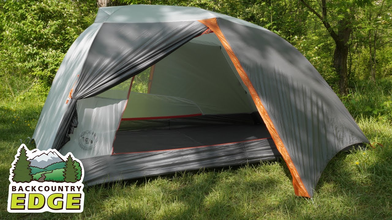 Big Agnes Copper Spur HV UL 3 mtnGLO Backpacking Tent - YouTube 8a960173c
