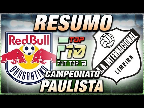 RB Bragantino x Inter de Limeira Ao Vivo l Campeonato Paulista l Narração