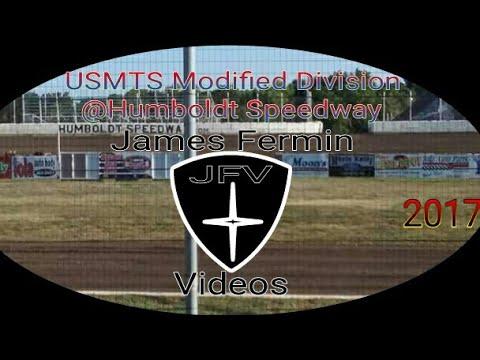 USMTS Modifieds #11, Heat, Humboldt Speedway, 2017